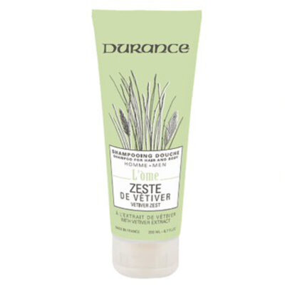 Durance šampon za kosu i tijelo za muškarce mirisa Kora vetivera