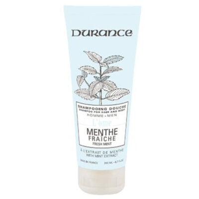 Durance šampon za kosu i tijelo za muškarce mirisa Svježa menta