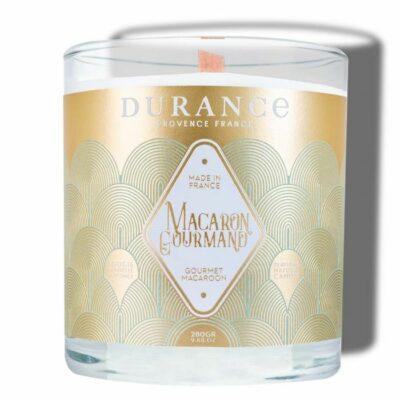 Durance mirisna svijeća s drvenim fitiljem mirisa Gurmanski makaron