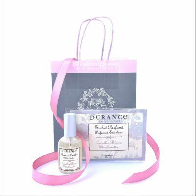Durance mirisni poklon paket za Valentinovo Bijela kamelija