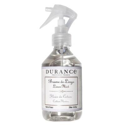 Durance sprej za posteljinu mirisa Cvijet pamuka
