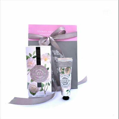 Durance mirisni poklon paket za prijateljicu Bijela kamelija