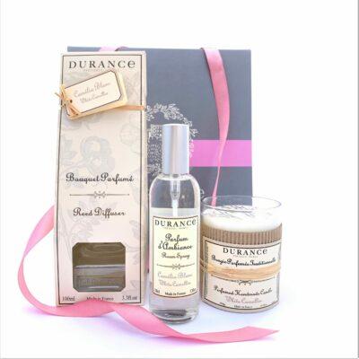 Durance mirisni poklon paket za prijateljicu Otmjenost bijele kamelije